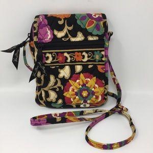 Vera Bradley Quilted Multi-Pocket Crossbody Bag